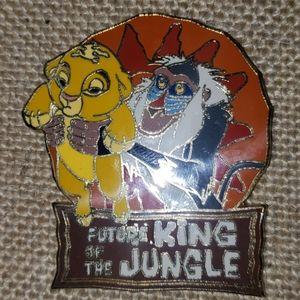 Lion King Simba Disney Pin
